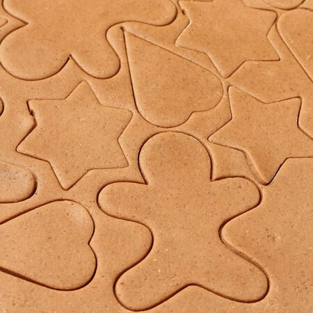 pastry cutter: Making gingerbread cookies for Christmas