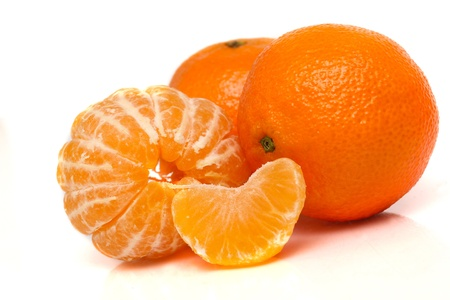 Orange mandarin or tangerine fruit Stock Photo - 17056727