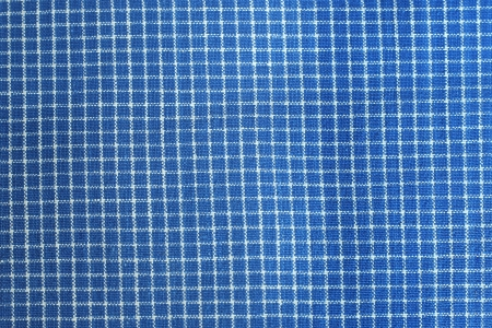 chequered drapery: blue tablecloth texture