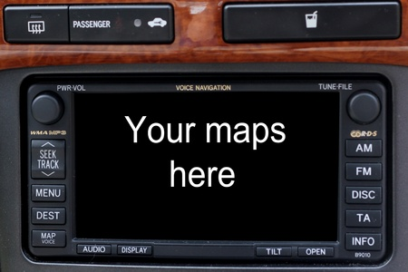 Satellite navigation system Stock Photo - 19569851