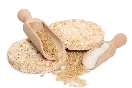 rice cake: Diet rice cakes pile