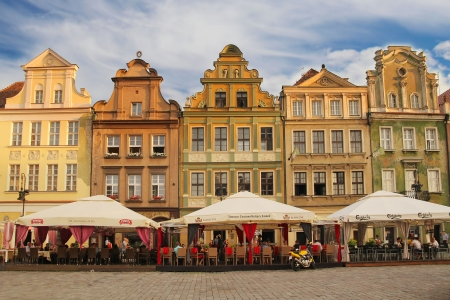 poznan: POZNAN - JULY 38  City Hall Old Market Square in Poznan; on July 28, 2013 in Poznan, Poland  The city is the 4th largest city in Poland