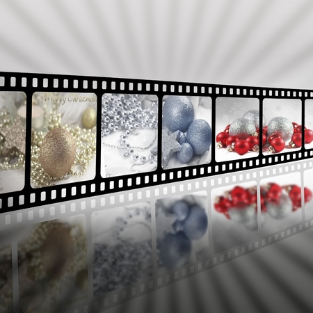 christmas movies: Christmas in strip film concept
