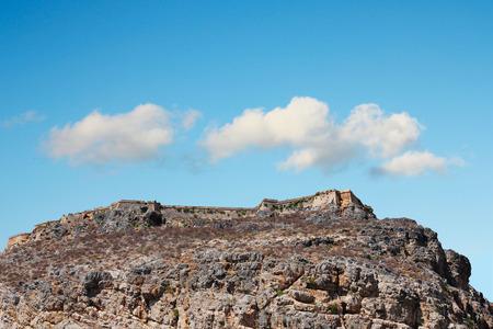fantastic view: Fantastic view of Balos Lagoon and Gramvousa island on Crete, Greece