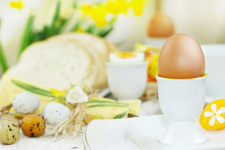 Easter Breakfast Stockfoto