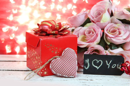 valentine married: Valentine Card.Roses and Hearts