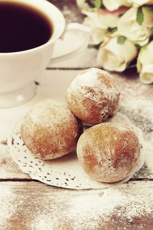 biscuit biscuits: sweet donuts Stock Photo