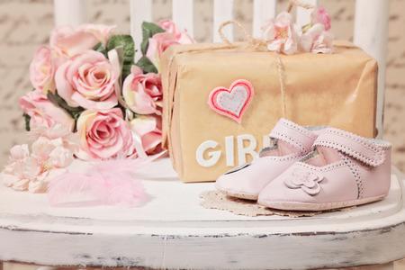 baby shower decoration Stockfoto