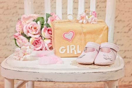 baby shower decoration Foto de archivo