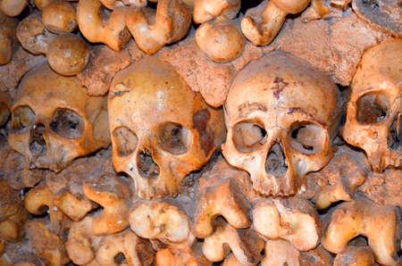 Skulls and bones Imagens