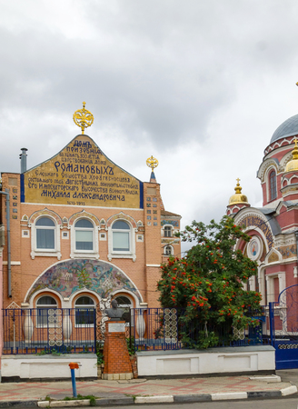 consecrated: Church of St. Prince Michael of Tver and Alexander Nevsky (Velikoknyazheskaya church). The most luxurious and unusual of religious buildings in Yelets. The church was built almost for 1 year on the funds of merchant Zausaylov, consecrated in 1911, is part