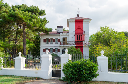 Gelendzhik lighthouse - the oldest operating lighthous on the Black Sea coast, a monument of architecture. Founded on August 19, 1897. The author of the building is considered to be a Frenchman, François Joseph de Tondo. Lighthouse is located on Lermon