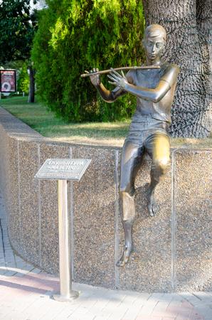 krasnodar: Sculpture Maestro on the promenade. Gelendzhik, Krasnodar Krai, Russia.