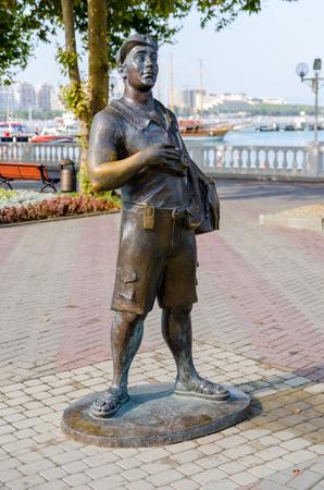krasnodar: The Tourist Sculpture. Gelendzhik, Krasnodar Krai, Russia.