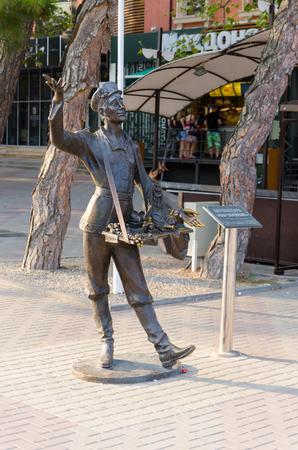 chapman: Gelendzhik, Krasnodar region, Russia - August 25, 2016. Chapman Sculpture.