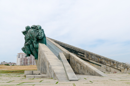Memorial Small Earth opened on 16 September 1982, is dedicated to the detachment of marines, who held landing operation on the night of February 14, 1943 under the command of Major Kunikov. The monument in its form the front of the warship, escaped at ful
