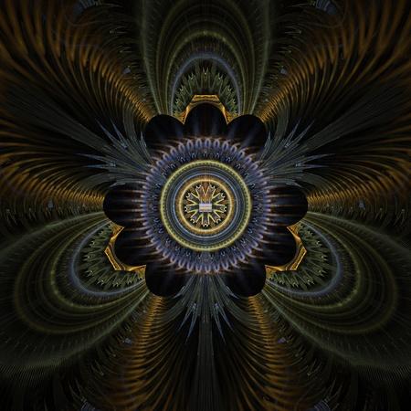 plumas de pavo real: Pavo real plumas resumen de diseño fractal para los fondos y fondos de pantalla