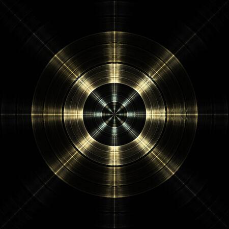 Radial Engine abstract fractal design Reklamní fotografie