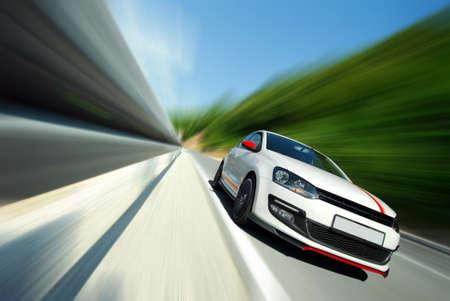 あまりにも高速運転