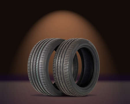 two summer sports tire photo
