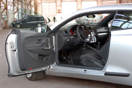 Innenraum des neuen Luxus-Sportwagen Standard-Bild - 33418429