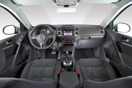 inside car: Interior of a modern car Stock Photo