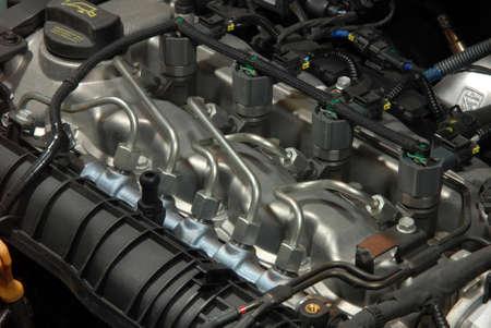 ead コモンレール ディーゼル エンジン 写真素材