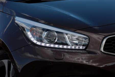 xenon: Headlight of the modern car
