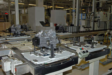 gearbox production line