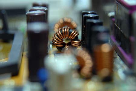 bobina: bobina de ferrita