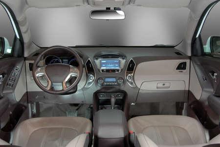airbag: modern car interior