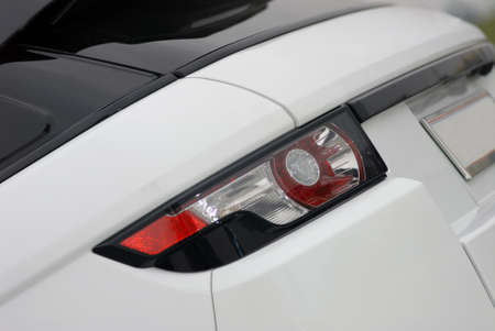 Back lamp of new luxury car