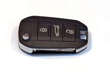 locking: black car key with remote central locking