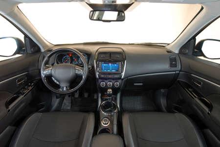 車のインテリア 写真素材