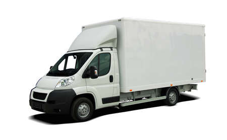 Delivery van Stock Photo - 33829866