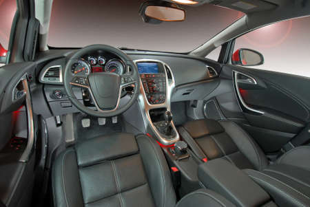 leather: car interior