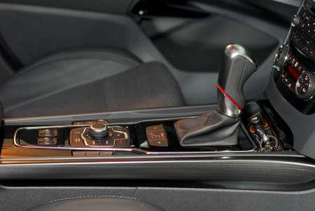 Automatic gear shift handle photo