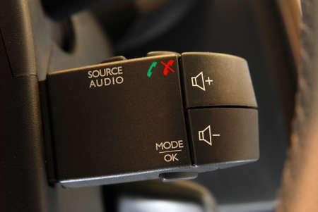 car audio: Car audio control buttons