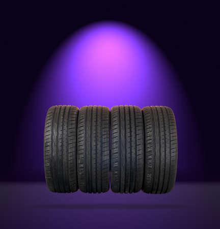 vulcanization: 4 summer tires