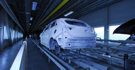 car production line Editoriali