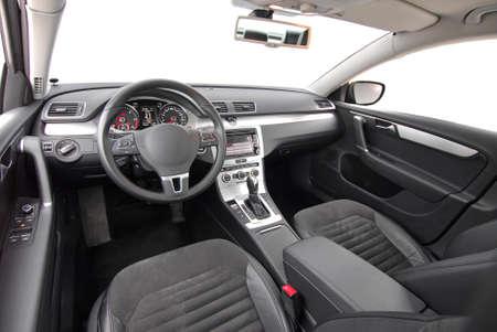 interior shot: modern car interior