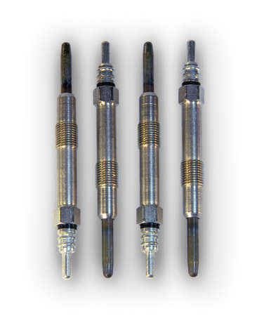 Glow plugs for diesel engine photo