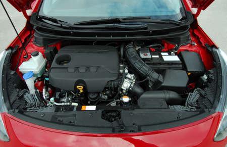 Motor de coche Foto de archivo - 34643963