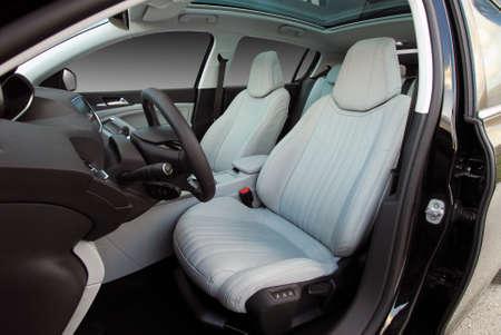 Front car seats photo