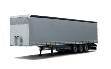 semi: Truck semi trailer