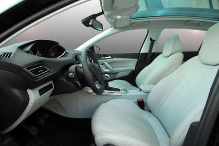 leather belt: car inside