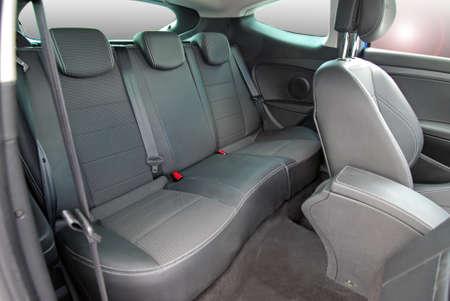 cinturón de seguridad: asiento de seguridad Foto de archivo