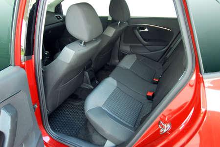 car clean: rear car seat