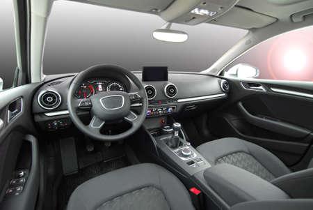 interior shot: car interior