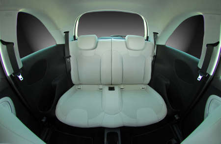 car safety: rear seats in a small car